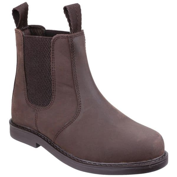 Amblers Camberwell Childrens Boots Brown